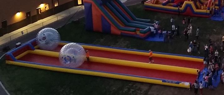 Human Hamster Ball Inflatable Fun